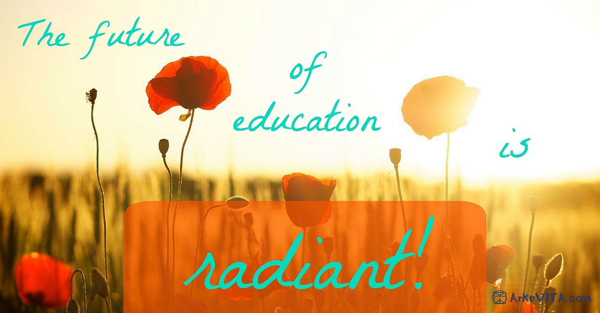 The future of education is radiant